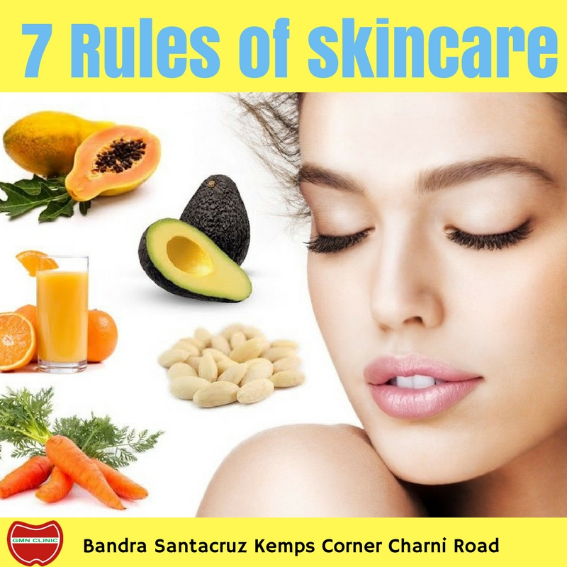7 Rules of skincare