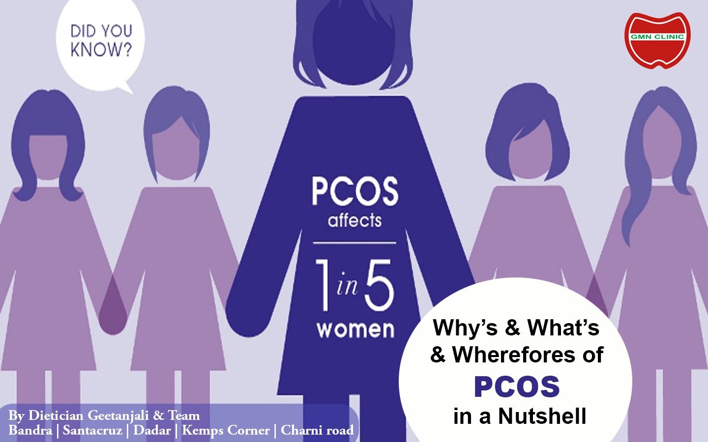 Why's and What's and Wherefores of PCOS in a nutshell